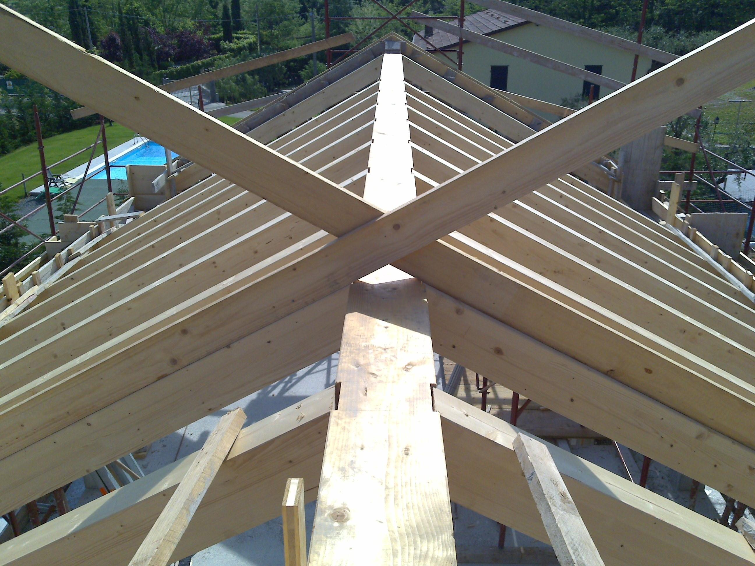 Copertura In Legno Ventilata : Tetto ventilato in legno